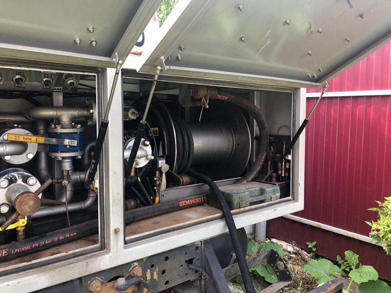 Как заправить газгольдер газом? ВЛАДНЕФТЕГАЗ