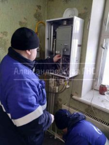 Обслуживаем газовые котлы (пропан-бутан)