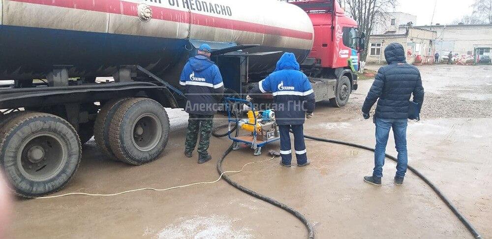 Проверка счетчиков и уровнемеров газовозов 2