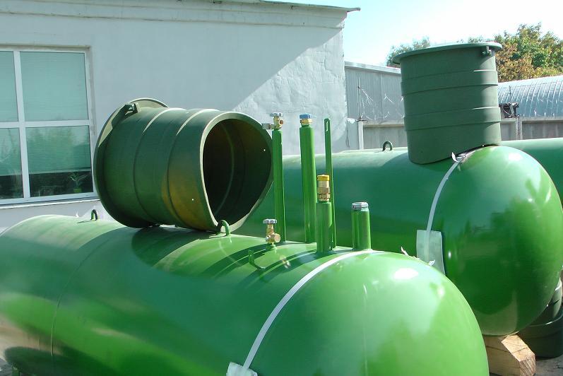 Установка газгольдера Александровская ГНС 2