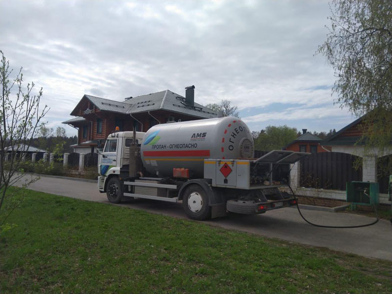 Доставка газа Александровская ГНС